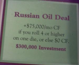 Russian Oil Deal