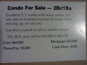 condo sale small deal