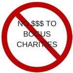 bogus charities