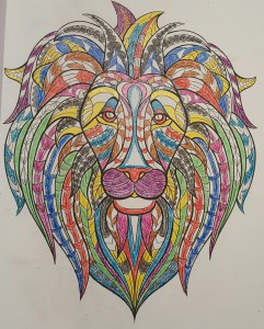 My Colorful Lion