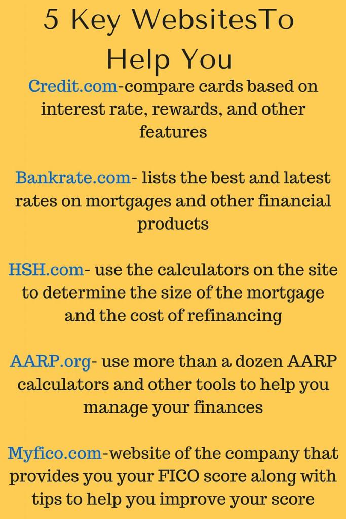 5 Key Websites
